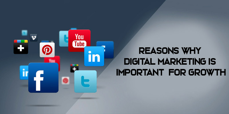 Reasons Why Digital Marketing is Important for Business Growth