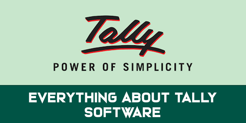 Everything about Tally Software